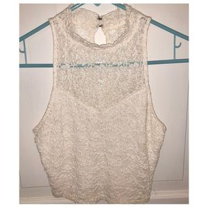 Abercrombie & Fitch Cropped Halter Top